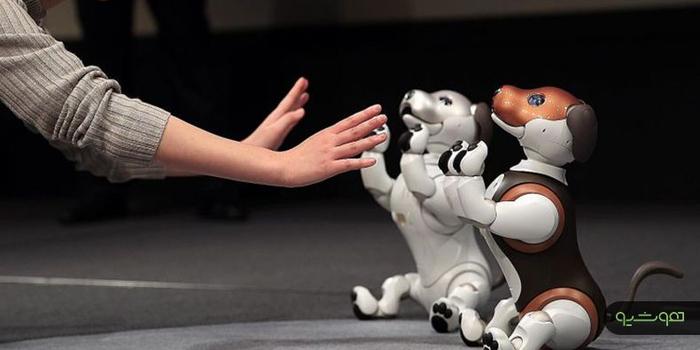 سگ های رباتیک برای یادگیری از کودک انسان تقلید میکنند
