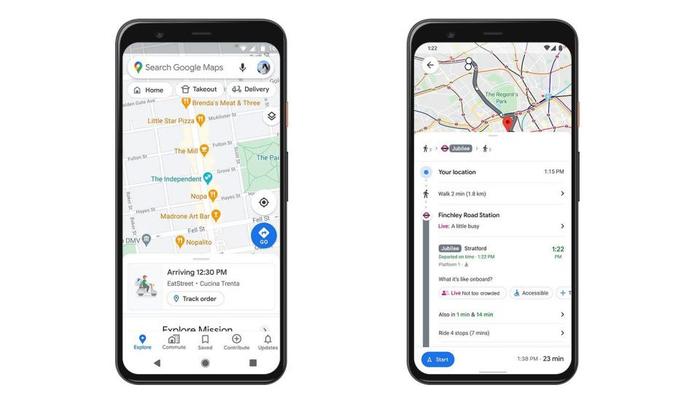 نقشه گوگل در جهت مبارزه با کرونا مکانهای شلوغ را به صورت لحظهای معرفی میکند