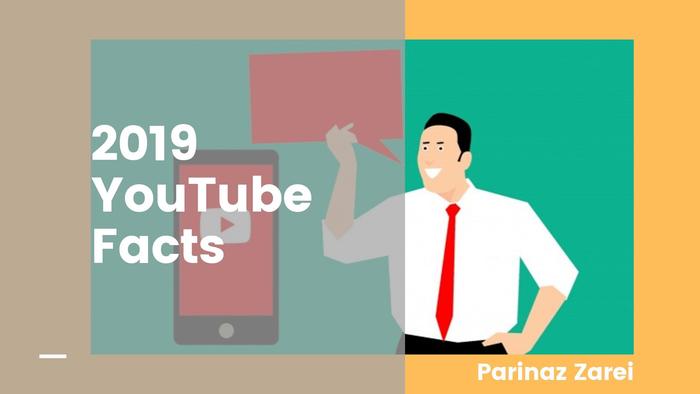 آمار منتشر شده از یوتیوب در سال 2019