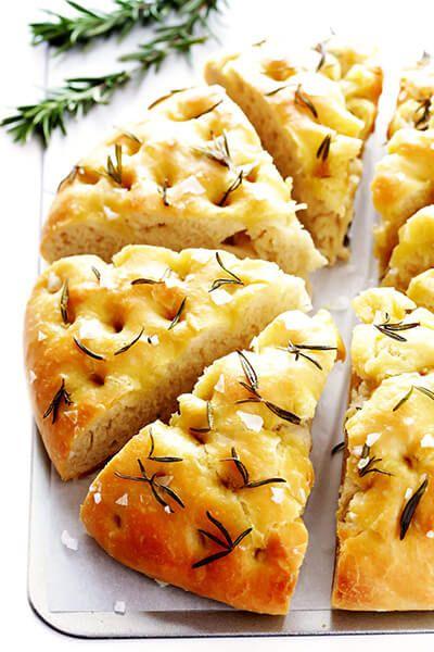 طرز تهیه نان فوکاچیا، نان ایتالیایی