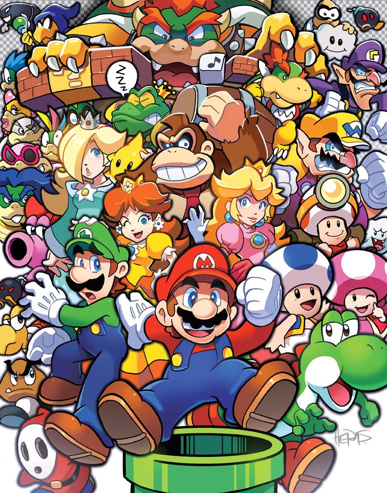 با ماریو بزرگ شدهایم!