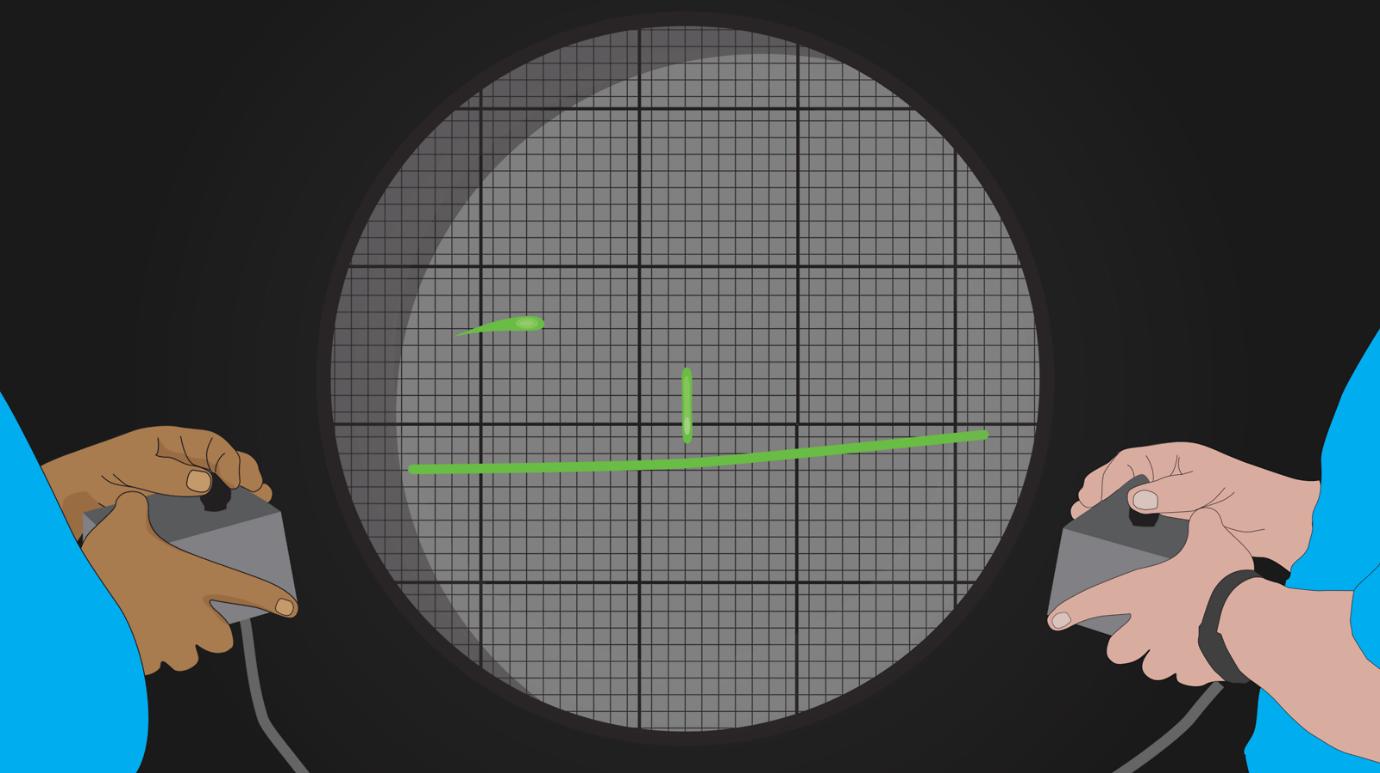 اسیلوسکوپ، نه برای فیزیک بلکه برای بازی