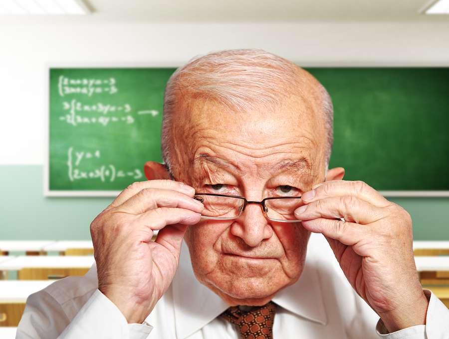 اصلاً کی دوست داره استادش اینقدر پیر باشه؟