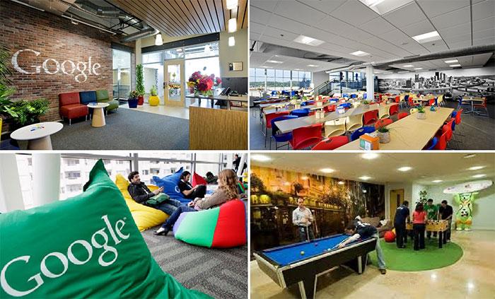 کار کردن در گوگل در سراسر دنیا