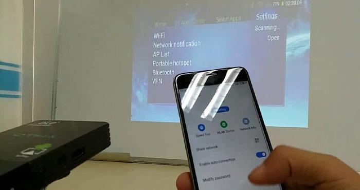 آموزش اتصال گوشی اندرویدی به پروژکتور