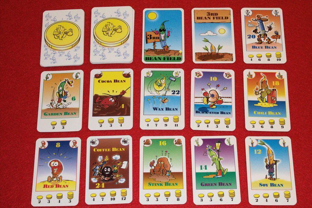 کارت های بازی bohnanza
