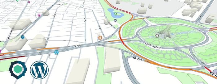 افزونه وردپرس جایگزین نقشه گوگل