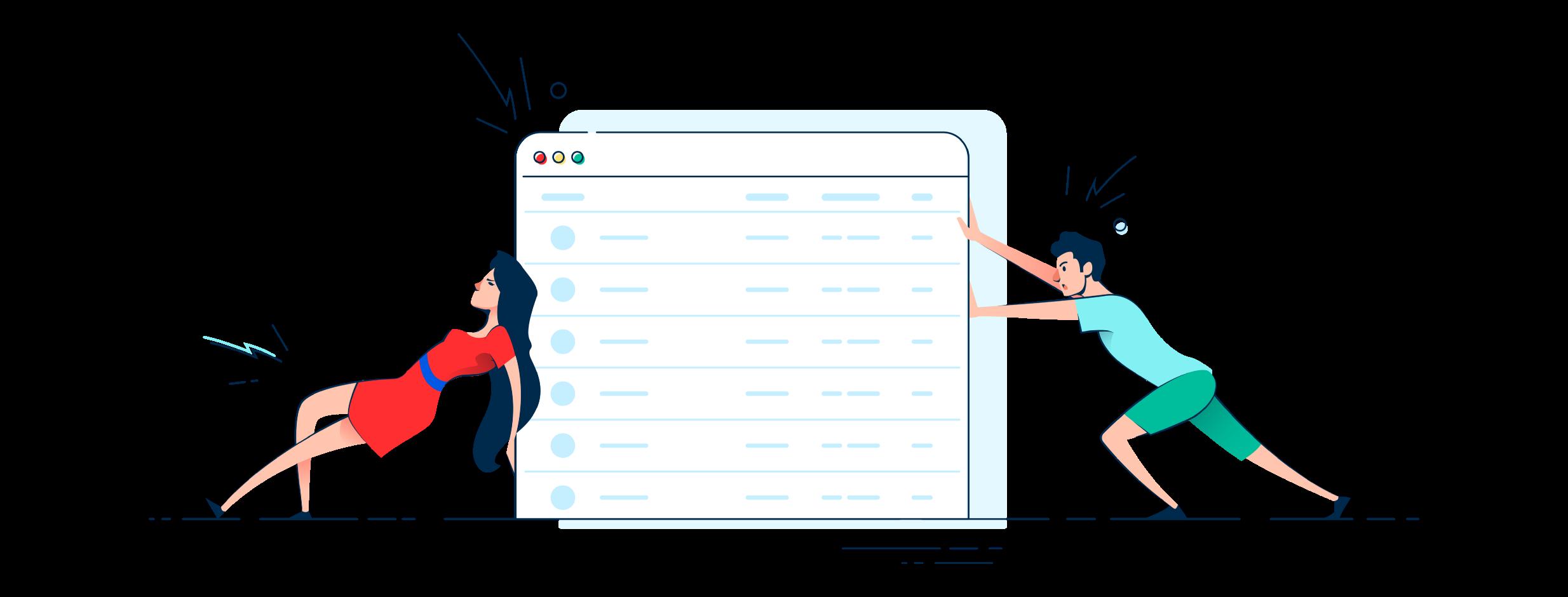 راهنمایی برای ایجاد یک تجربه کابری بهتر از جدول داده ها در موبایل