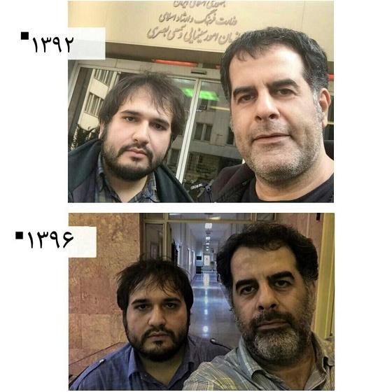 محسن امیریوسفی و رضا درمیشیان در پی مجوز اکران فیلمهایشان | اینستاگرام رضا درمیشیان