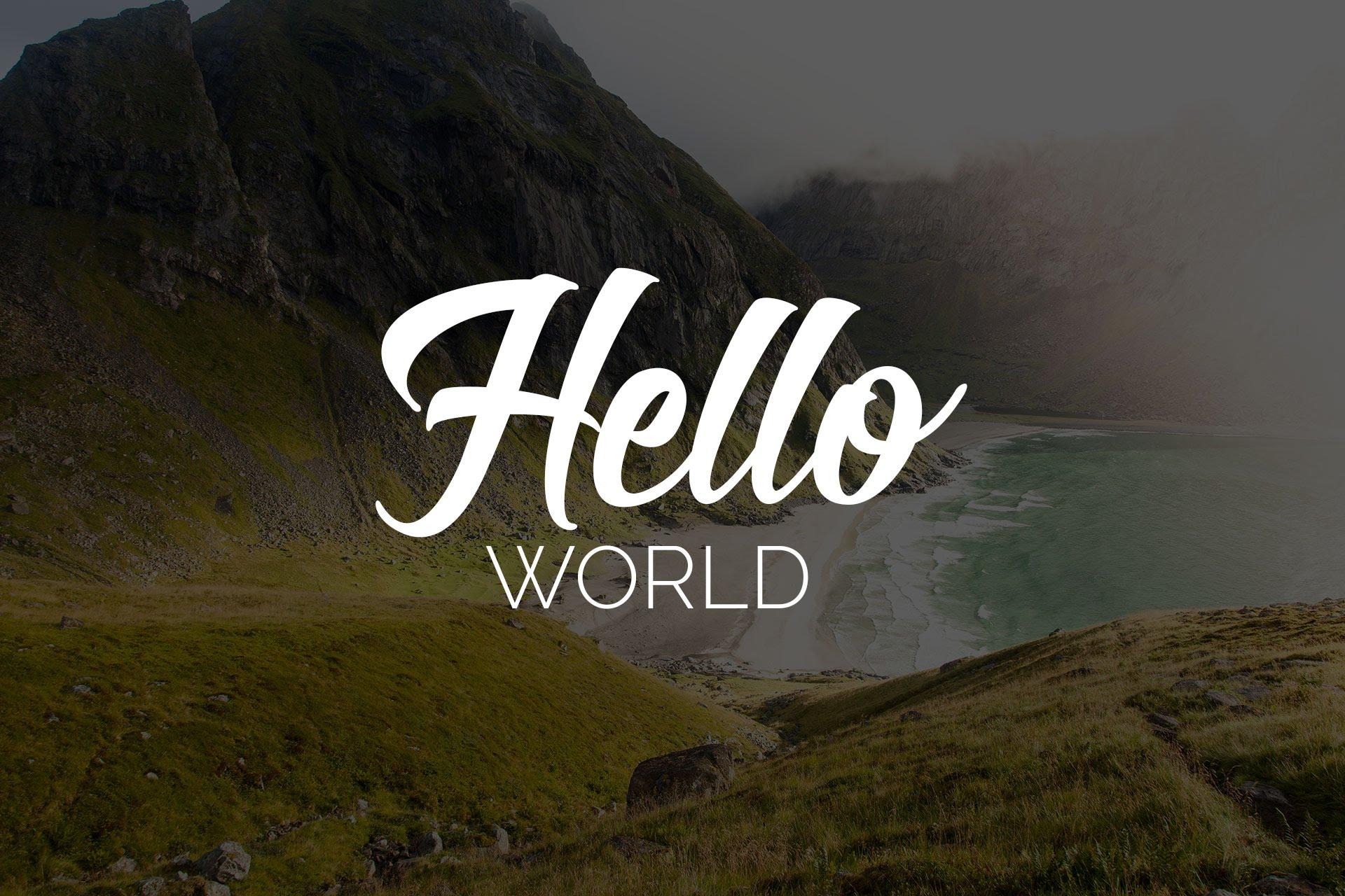 نُد به طعم کاربرد! Hello World!