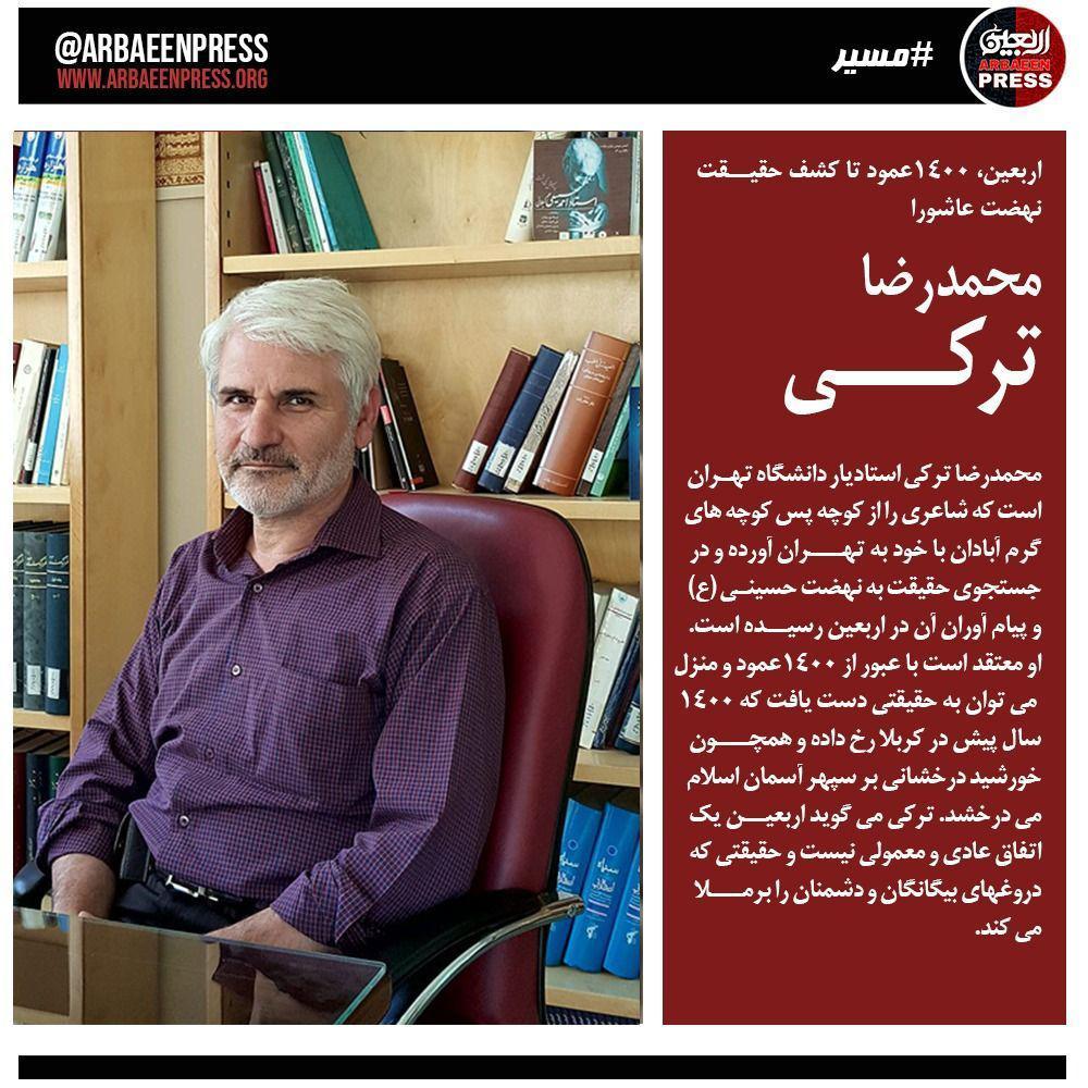 محمدرضا ترکی استادیار دانشگاه تهران