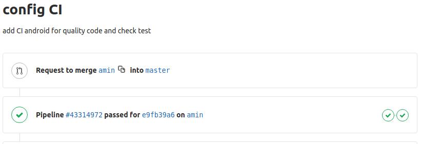 تست و  CI  در برنامه نویسی اندروید