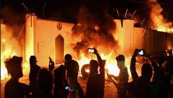 کدام جریان پشت آتش زدن کنسولگری ایران در نجف بود؟