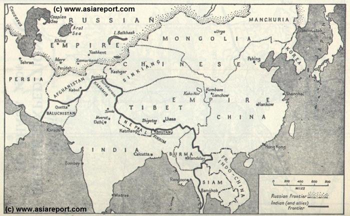 نقشهی قدیم و جدید هند و تاثیر آن بر روابط خارجی این کشور