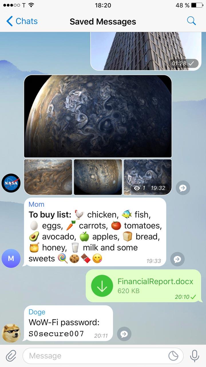 آموزش ارسال آلبوم تصاویر و ویدئو در ربات تلگرام