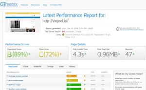 جیتیمتریکس، متری برای توسعه دهندگان وب