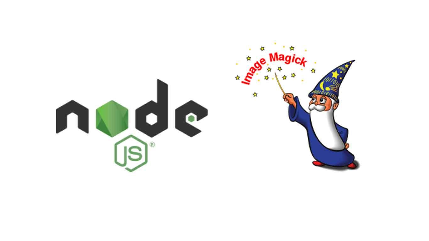 Node js and ImageMagick