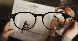 دنیای بدون عینک