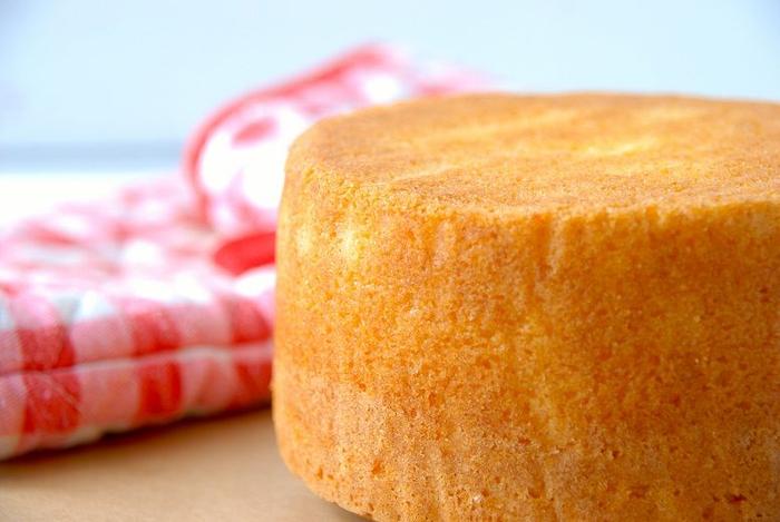 الگوریتم طرز تهیه کیک اسفنجی (بدون شیر، روغن و کره)