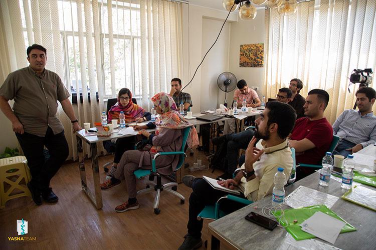 کارگاه آموزشی یکروزه اسکرام در یسناتیم برگزار شد