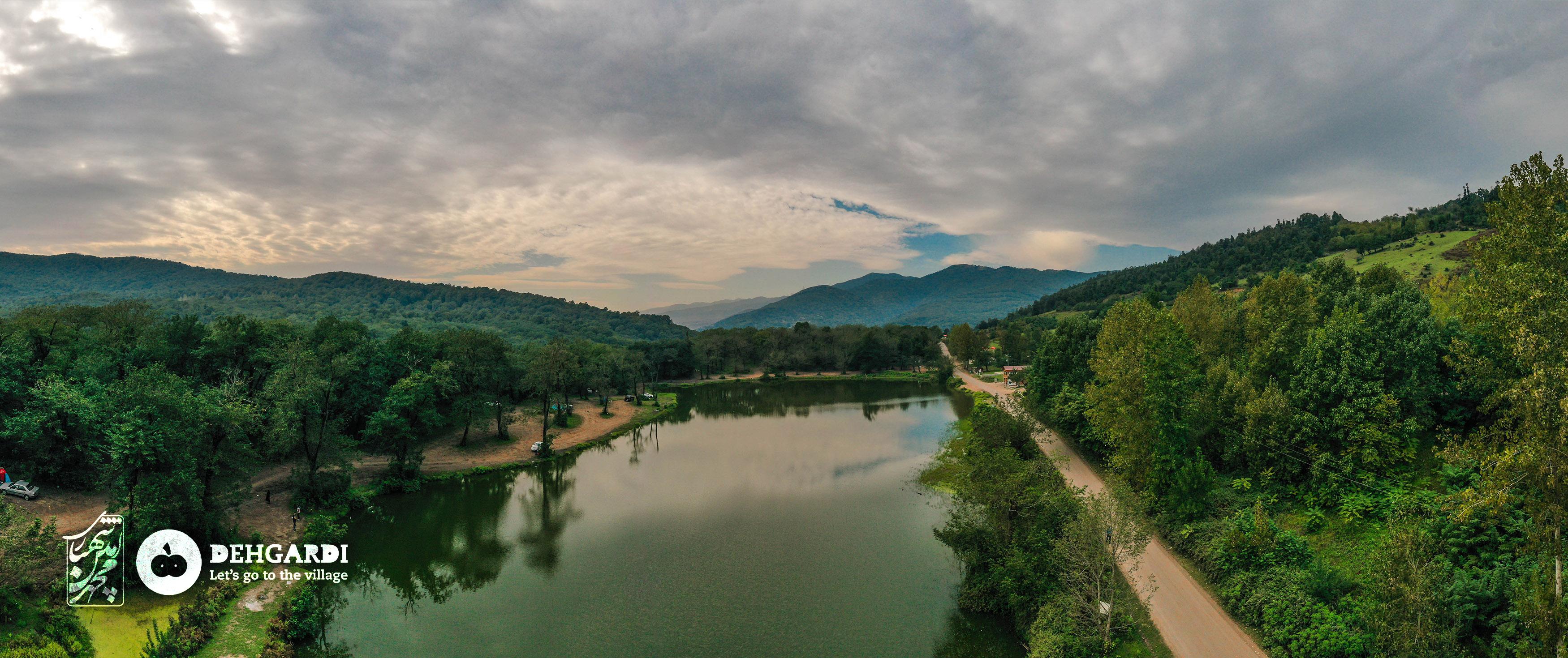 روستای حلیمهجان - دریاچه عروس