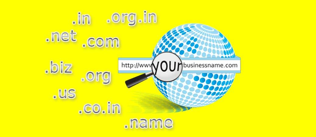 انتخاب نام وب سایت ( انتخاب نام دامنه )