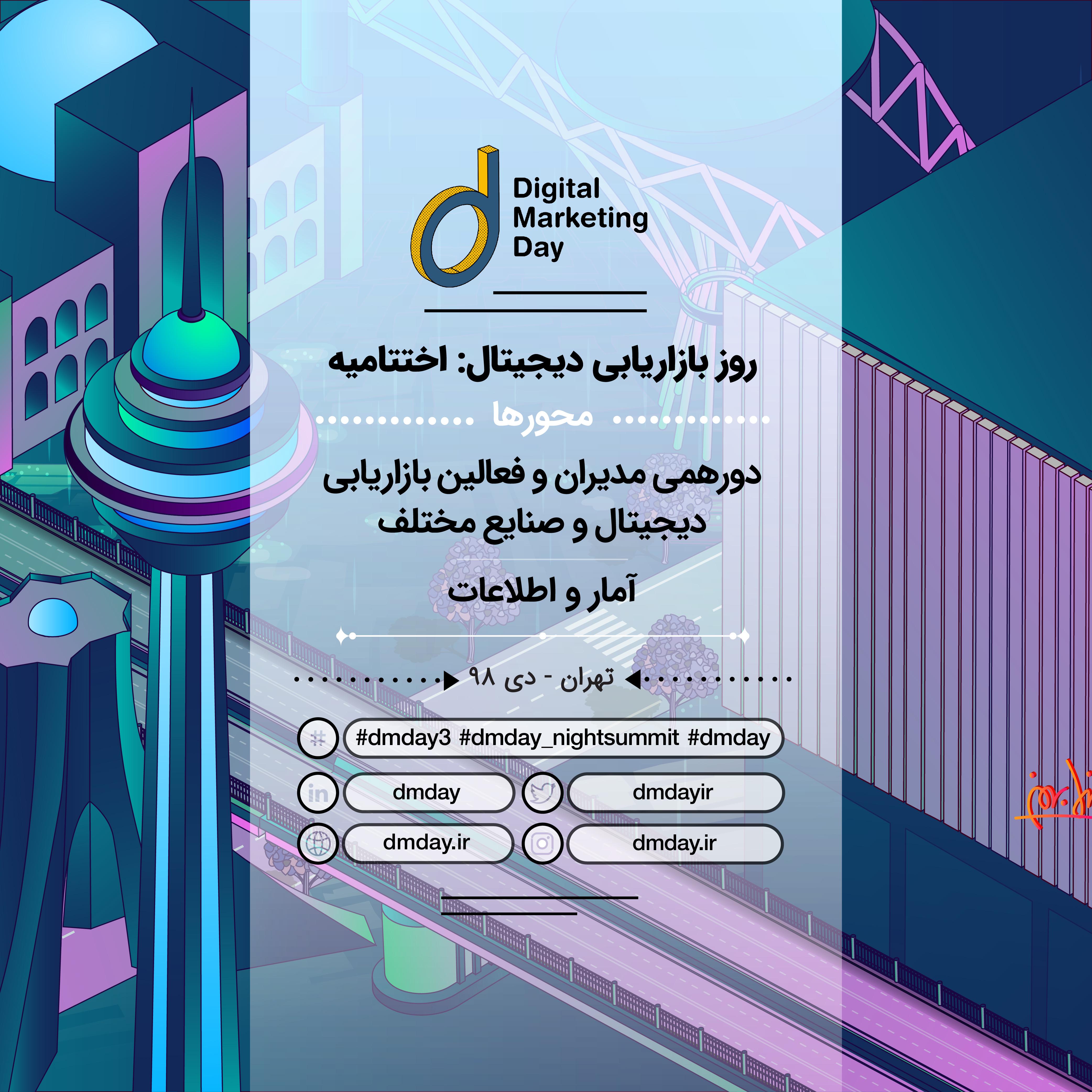 بخش اختتامیه سومین دوره رویداد روز بازاریابی دیجیتال!