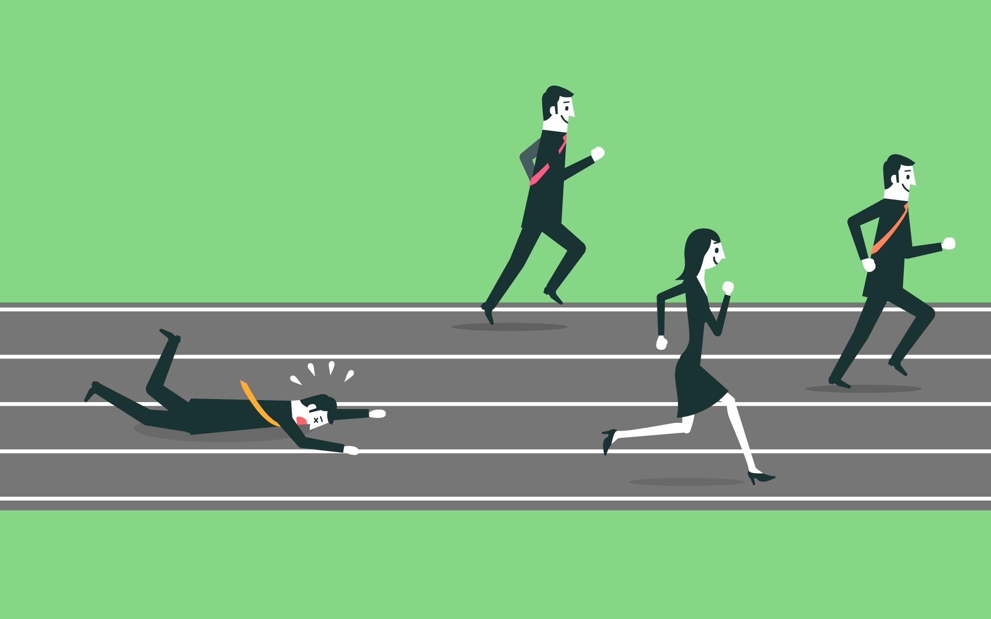 ۴ دلیل شکست استارتاپها در یک نگاه