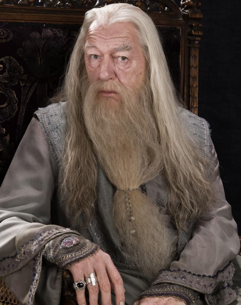 در داستان هری پاتر، شخصیت دامبلدور از قبل رشدشو کرده و مسیر اون در داستان رشد خاصی نداره.