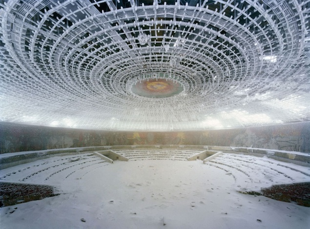خانه حزب کمونیست بلغارستان که اکنون متروکه است