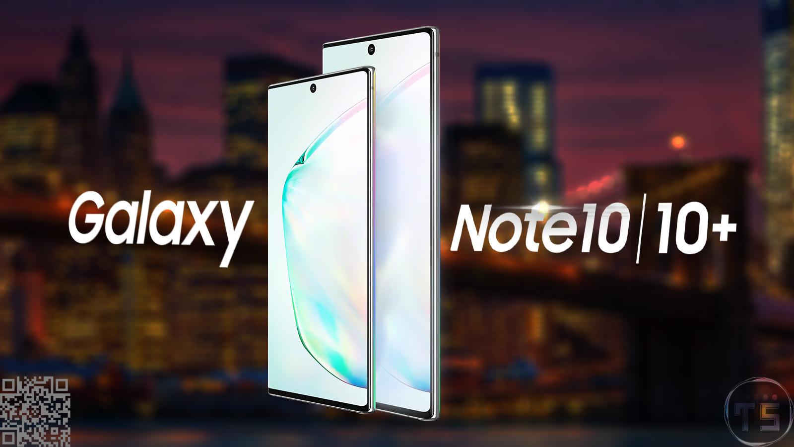 دهمین کهکشان مکتوب سامسونگ، Galaxy Note 10 معرفی شد