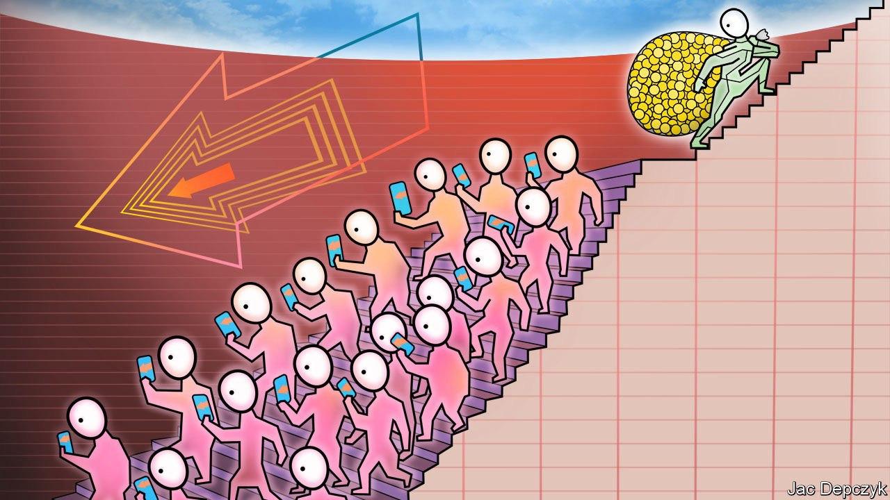 نابرابری در توزیع ثروت منجر به نابرابری در توزیع قدرت و تجمع آن درعدهی خاصی از جامعه میشود.