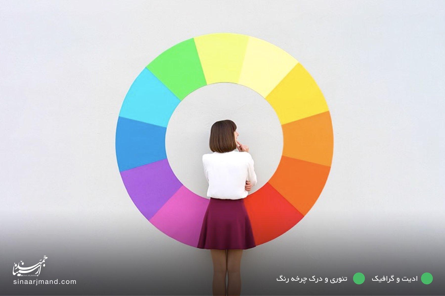 تئوری و درک چرخه رنگ