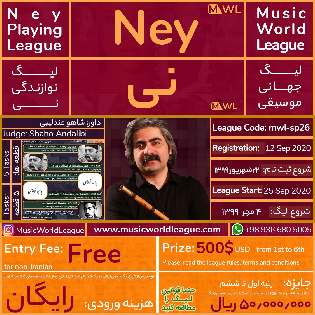 لیگ جهانی موسیقی Music World League