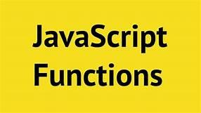 functions در جاوا اسکریپت