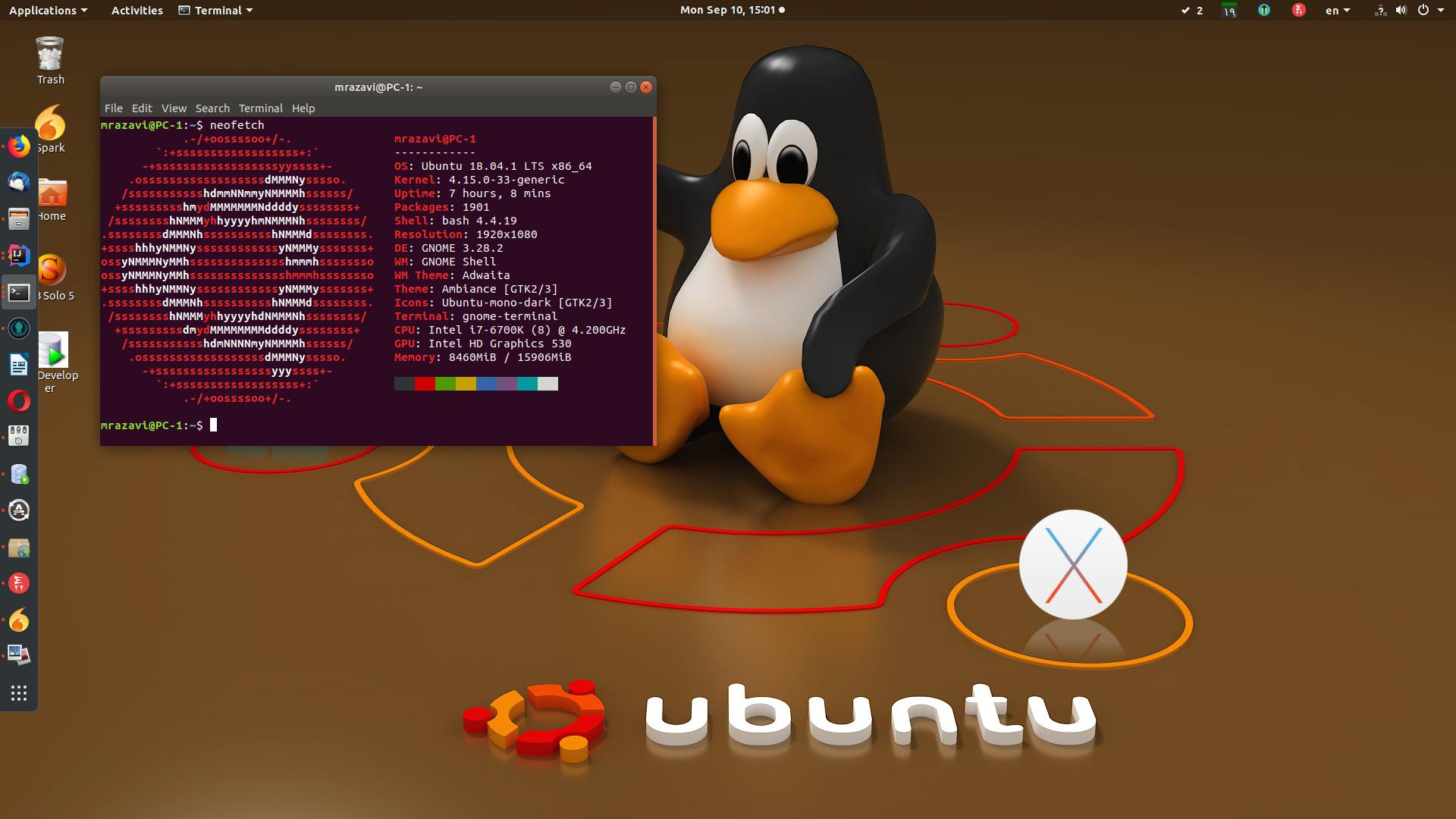 سفارشی سازی های   18.04 Ubuntu -بخش دوم