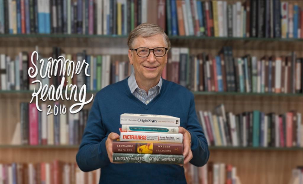 پنج کتاب ارزشمند برای تابستان از نظر بیل گیتس !