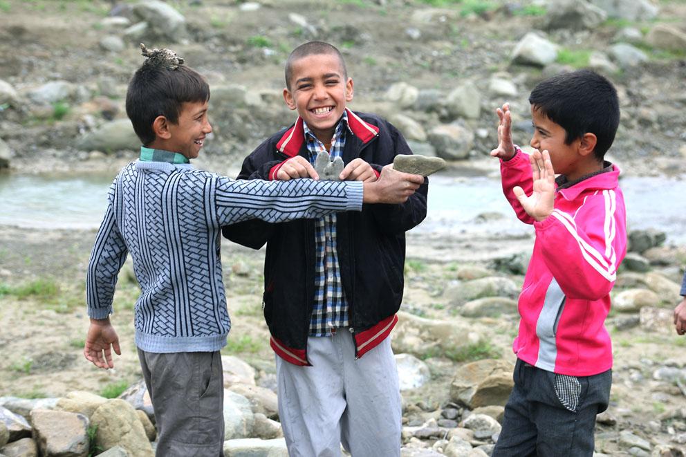 بچههای مدرسه آیرقایه، عکس از مهدی منادی