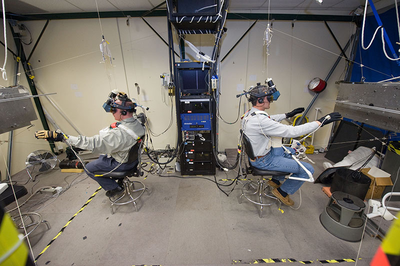 لابراتوار واقعیت مجازی ناسا