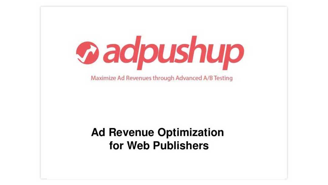 پیچدک Adpushup