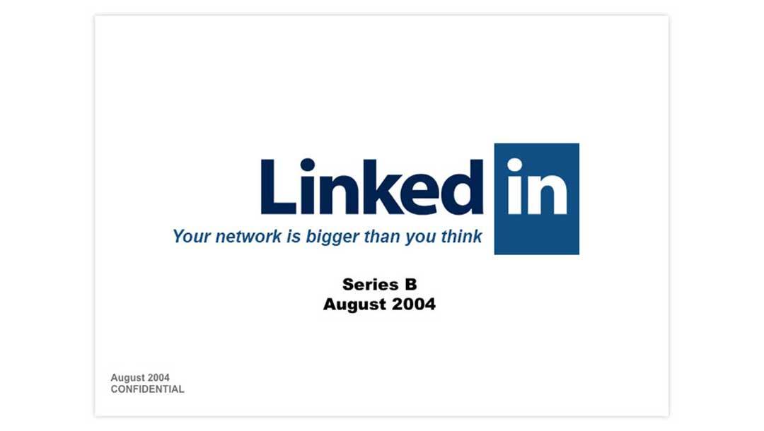 پیچدک Linkedin برای راند B در آگوست 2004