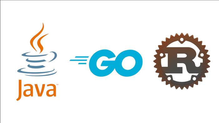 مهندسی کامپیوتر- مقایسه ابزار ها GO,Rust,Java