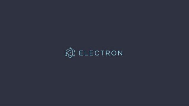Electron JS  راهی راحت برای ورود به دنیای دسکتاپ